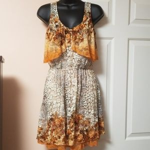 American Rag Lace Overlay Dress